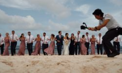 Maddie & Casie Lunarts films wedding videographer